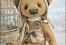 Steampunk toys/bears