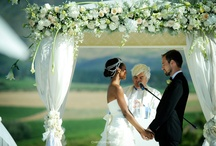 White Wedding / White wedding flowers and design. / by Jessica Farber