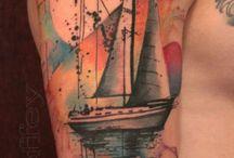 Tattoo acquerello