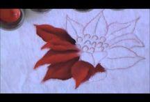 vídeos- pintura natal