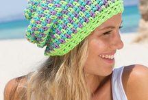 Crochet hats + beanies