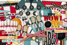 Sports scrapbooking kits / Scrapbooking kits and elements with a sports theme