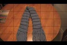 pletení na stavu / pletení na stavu