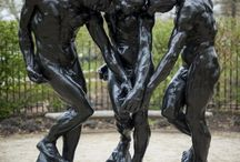 August Rodin / French  artist (1840-1917)