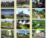 Irish Houses and Gardens / Houses and Gardens of Ireland from the Georgian and Victorian period.