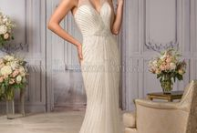 Grecian Goddess - Greece Destination Wedding Inspiration / Jasmine Bridal wedding dresses and wedding ideas for a destination Greece wedding and/or Grecian themed wedding.