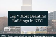 Top 7 Most Beautiful Buildings in NYC / Our favorite buildings in the New York City area. Architecture / Modern / Design.