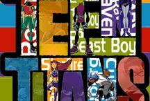 Teen Titans / by Jen Basim Wright