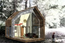 tinyhomes/cabins / by Doug Burch