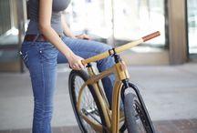 Wood Bike Girl