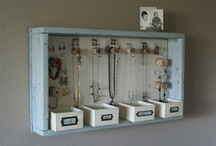 Unique Storage Ideas / There are a million and one ways to store everyday items and our precious memories, why not make it unique and beautiful, too?