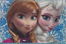 Disney Frozen / Pictures of the Frozen characters from the Frozen sticker and trading card collections.