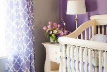 *A Room Fit For A Princess / Baby girl nursery ideas/themes. Includes my desired theme (for future babygirl ofcourse.!) of a giraffe and elephant room with grey, yellow, and purple color scheme (with light pink and teal accents) :) / by Katt Napieracz
