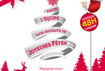 Joyeux noël à tous :) / En ce 24 décembre 2014, nous vous souhaitons de joyeuses fêtes.
