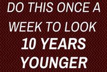 10 år yngre