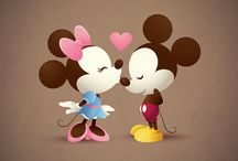 Minnie & Mickey Mouse Love