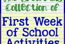 πρώτες μέρες στο δημοτικό σχολείο