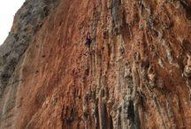 Greece Rock Climbing / All about rock climbing in beautiful Greece