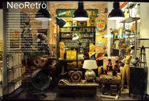 Neoretro's shop / Mobili e ambienti di NeoRetro