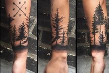 Wald-Tattoos