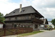 Деревянные дома Словакии