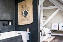 Koupelny v ložnici