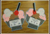 First Grade Math Crafts