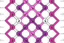 0 to 10 strings Macrame patterns