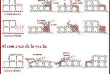 Tutoriales para Crochet / by Rosita Kalchichen