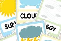 Flashcards to print ... Weather, Numbers, etc