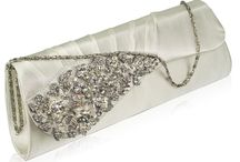 Clutch Bags and Evening Bags / A selection of satin evening bags and clutch bags.