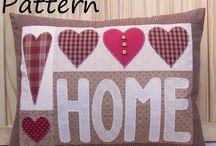 Cushions... Hearts