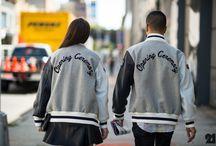 Varsity jacket trand