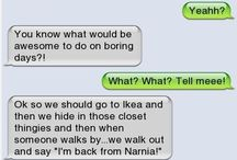 Funny ;) / by Kayla Hines