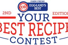 "You Could Win $10,000 in the 2014 Eggland's Best ""Your Best Recipe Contest"" / Eggland's Best is looking for YOUR best recipe! Enter your favorite, original egg recipe in the Eggland's Best ""Your Best Recipe"" Contest! You can enter up to 2 recipes in each of these 4 categories: * Breakfast * Appetizer * Main Course * Dessert  One winner in each category will be awarded $1,000. One Grand Prize winner will be selected from those 4 winners to receive $10,000.  Enter today at www.egglandsbest.com/yourbestrecipe  Entry dates: May 5, 2014 - July 31, 2014 / by Eggland's Best"
