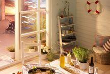Maritimer Beach House Style / Mit den Produkten unserer neuen Themenwelt, verleiht ihr eurem zu Hause maritimes Beach House Flair