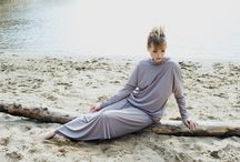 SESJA ŚLAD / Piękna sesja wykonana nad morzem. Kolekcja ŚLAD by Olga Passia, wiosna-lato 2014