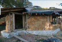 Eco houses, termeszetes hazak