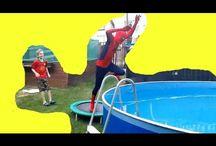 Funny Superhere videos fok kids :)