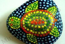 Australian dot art