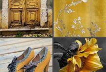 Palette interni: giallo