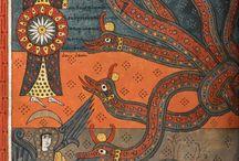 Beato de Liebana e pagine miniati / dragon