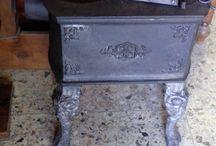 Stufa in metallo, sec. XX / Gli interventi di #manutenzione e #restauro su una stufa in metallo