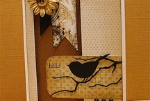 Cards with Die Cuts / by Dona Deam