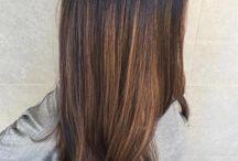 Hairdressing colour Flamboyage