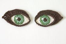 eyes crochet