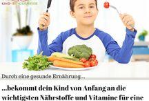 Gesunde Kinderernährung! / Hier gibt es das Wichtigste über gesunde Kinderernährung.