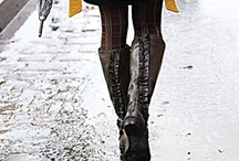 Love boots and coat