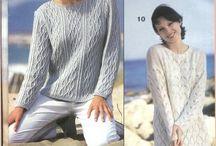Модели для женщин. Вязание.