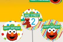 Elmo Sesame Street Birthday Ideas